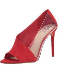 Vince Camuto Pump - Red