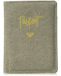 Roxy - Live Your Dreams Passport Case - Lyst