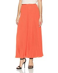 French Connection - Classic Crepe Light Woven Pleated Skirt, - Lyst