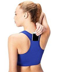 Core 10 - (xs-3x) Longline Pocket Sports Bra - Lyst