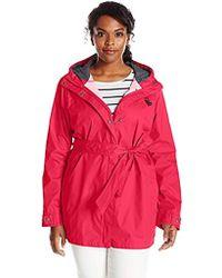 329979dba24 Lyst - Columbia Pardon My Trench Plus Size Rain Jacket in Purple