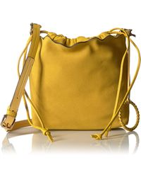 Vince Camuto Wavy Bucket - Yellow