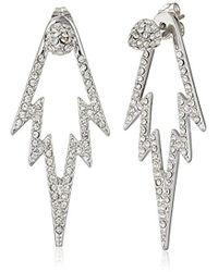 CC SKYE - The Crystal Pop Double Sided Drop Earrings - Lyst