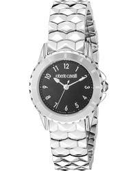 Roberto Cavalli By Franck Muller Women's Stainless Steel Watch - Metallic
