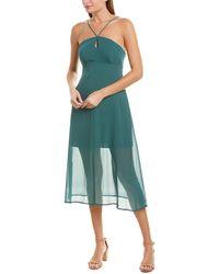 BCBGeneration Strappy Slip Dress Vdw6215168 - Green