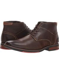 3f46a19a3aa Lyst - Steve Madden Troopa Lace Up Combat Boots in Brown for Men