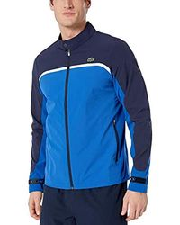 Lacoste - Sport Long Sleeve Color Blocked Golf Jacket - Lyst