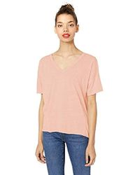 Lucky Brand - Seamed Burn Out Tee - Lyst