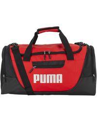 PUMA Erwachsene Defiance Duffel Bag Seesack - Rot