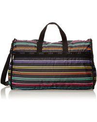 LeSportsac Extra Large Weekender Handbag,lestripe Black,one Size