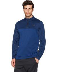 Peak Velocity Quantum Fleece 1/4 Zip Athletic-fit - Blue