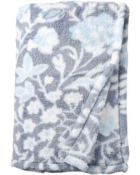 Vera Bradley Womens Fleece Plush Shimmer Throw Blanket D Cor - Multicolor