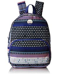 Lyst - adidas Stellasport Printed Backpack in Blue 07527a2a74e68