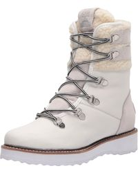 Roxy Leather Boots For - Leather Boots - White