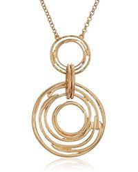 The Sak - Orbit Gold Pendant Necklace - Lyst
