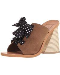 Dolce Vita Amber Heeled Sandal - Multicolor