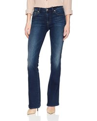 7 For All Mankind 788 For All Kind Bootcut Jean - Blue