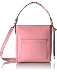 Cole Haan Kaylee Small Bucket Hobo - Pink