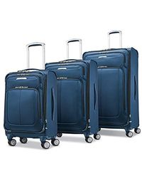 Samsonite Solyte Dlx Expandable Softside Luggage With Spinner Wheels - Blue