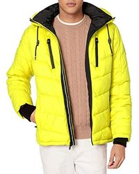 Calvin Klein Neon Puffer Jacket - Yellow