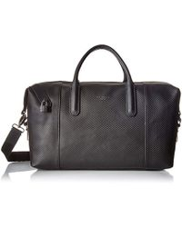 Ted Baker - Novana Carbon Fibre Leather Holdall - Lyst