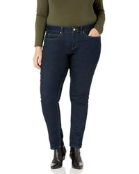 Rafaella Plus Size Weekend Skinny Leg Slim Fit Jeans - Blue