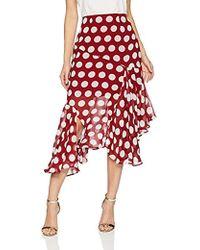 C/meo Collective - Unending Asymmetrical Cut Midi Skirt - Lyst