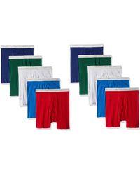 Hanes 10-pack Boxer Brief - Multicolor