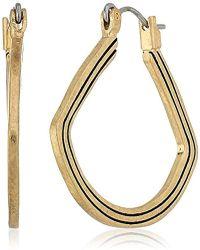 The Sak - Etched Hoop Earrings - Lyst