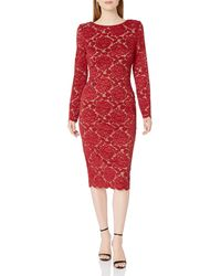 Dress the Population Bodycon - Red