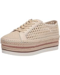Vince Camuto Kemmiy Platform Sneaker - Natural