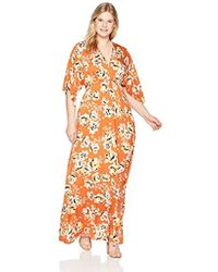 ee77b9fccaa Lyst - Rachel Pally Plus Size Long Caftan Dress in Blue