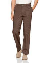 Lee Jeans - Total Freedom Stretch Straight Fit Flat Front Pant - Lyst