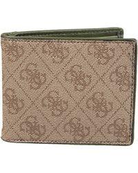 Guess Bifold Wallet Geldbörse - Braun