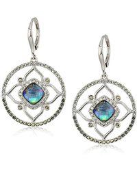 Judith Jack - Sterling Silver/multi Stone Bangle Bracelet - Lyst