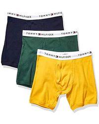 Tommy Hilfiger Underwear Multipack Cotton Classics Boxer Briefs - Yellow