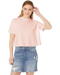 AG Jeans Drew Crop Tee - Pink
