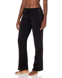 Natori Brushed Lounge Pant - Black