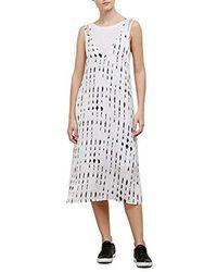 Kenneth Cole - Printed Tank Dress - Lyst