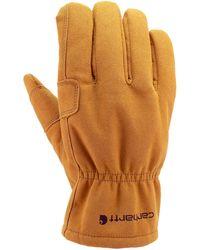 Carhartt Leather Fencer Work Glove - Braun