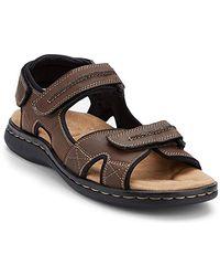 Dockers Newpage Sporty Outdoor Sandal Shoe - Black