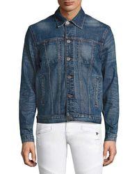 Hudson Jeans Jeans Broc Jacket - Blue