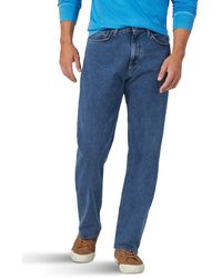 Wrangler Authentics Big & Tall Classic Relaxed Fit Jean - Blue