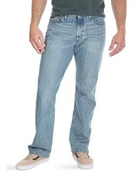 Wrangler Big & Tall Comfort Flex Waist Jean - Blue