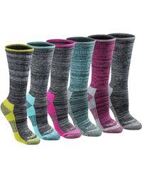Dickies Dritech Advanced Moisture Wicking Crew Sock - Black