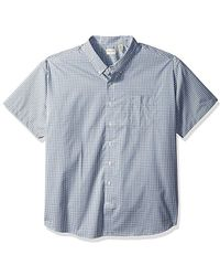 86226a9eda4 Dockers - Big And Tall Short Sleeve No Wrinkle Stretch Button-front Shirt -  Lyst