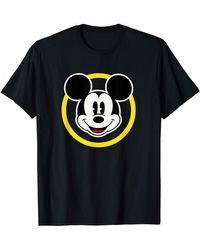 Amazon Essentials S Disney Forever Mickey Mouse Black T-shirt