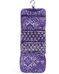 Vera Bradley Signature Cotton Compact Hanging Travel Organizer - Multicolor