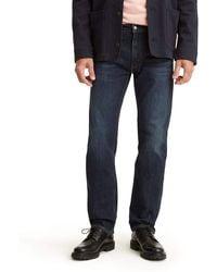 Levi's 505 Regular Fit Jeans - Blau