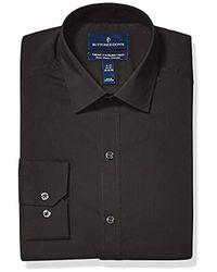 Buttoned Down Amazon Brand - Black